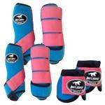 Kit Completo Boots Horse Color Cloche e Boleteira Dianteira e Traseira - Colorido 06