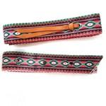 Conjunto Latico e Contra-Latico Boots Horse - Estampa 3 vermelho