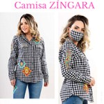 Camisa Miss Country - Zingara