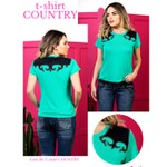 T-Shirt Miss Country - Country