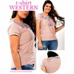 T-Shirt Miss Country - Western