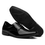 Sapato Social Masculino Em Couro Amarrar Preto - Lorenzzo Lopez