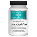Graviola Max - Rainforest Pharmacy - 600 mg - 120 Capsules