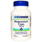 Magnesium Caps - Life Extension - 500mg - 100 Caps