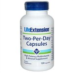 Two-Per-Day, Life Extension, 120 Capsules