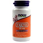 7-Keto, 25 mg ,Now Foods, 90 Cápsulas