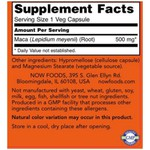 Maca - Now Foods - 500 mg - 250 Capsules