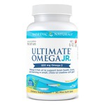 Ultimate Omega Junior, sabor Morango, Nordic Naturals, 680 mg, 90 Mini Soft Gels