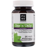 Multivitamínico One 'n' Only ™ Women - Um por dia - Pure Essence Labs - 90 tabletes