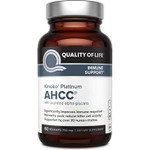 AHCC Kinoko Platinum, Quality of Life Labs, 750 mg, 60 Veggie Caps