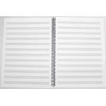 Caderno De Música Grande 50 folhas