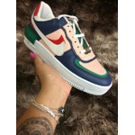 TÊnis Nike Air Force 1 Shadow Azul/Verde - Importado