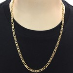 Cordão de Ouro 18K Masculino 60cm