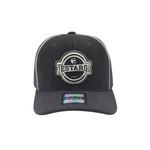Boné E-STARS Baseball Aba Curva Chumbo