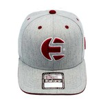 Boné E-STARS Baseball Aba Curva Cinza