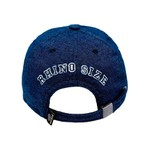 Boné RHINO SIZE Dad Hat Aba Curva Jeans Azul