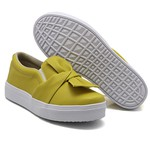 Slip On Laço Mostarda DKShoes
