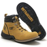 Bota Caterpillar Lock Comfort Plus Amarela