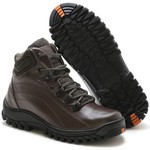 BOTA ADVENTURE ROTA SHOES CAFÉ 100% COURO