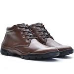 Bota Casual Adventure Rota Shoes Café 100% Couro