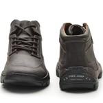 Bota Casual Plus Adventure Rota Shoes Café 100% Couro