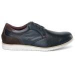 Sapato Casual Oxford Masculino Confortável Marinho