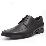 Sapato Clássico Masculino Derby Miele Preto Samello