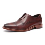 Sapato Clássico Masculino Derby Edge Pinhão Samello
