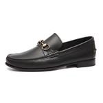 Sapato Masculino Loafer Bittar Preto Samello
