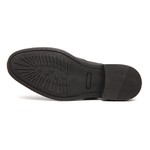 Sapato Social Trellis - Preto # Clássico Masculino Brogue
