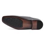 Sapato Clássico Masculino Elevator Oxford Império Preto Samello