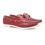 Deckshoes Masculino Kanoê Vintage Vermelho Samello