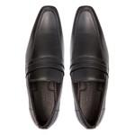 Sapato Clássico Masculino Loafer Pilar Preto Samello