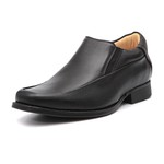 Sapato Elevator Columbres Preto Loafer Samello