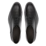 Sapato Clássico Masculino Brogue Rav - Preto