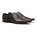 Sapato Clássico Masculino Oxford Mille Café Samello