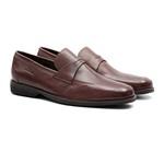 Sapato Comfort Gel Social Stors - Café | Clássico Masculino Loafer