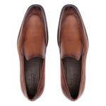 Sapato Clássico Masculino Loafer Corolla Caramelo Samello