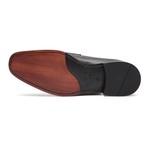 Sapato Social Masculino Loafer Bravo Preto Samello