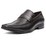 Sapato Social Masculino Loafer Cayman Preto Samello