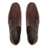 Sapato Masculino Loafer Barrom Chocolate Samello