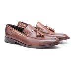 Sapato Masculino Loafer Franz Marrom Samello