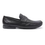 Sapato Masculino Loafer Barrom Preto Samello