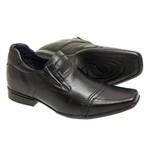 Sapato Social Sândalo Up Com Elevação Black