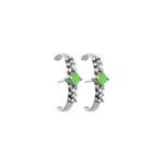 Brinco Ear Hook Organic|Coleção Ártemis