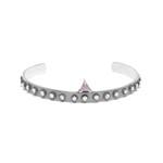 Bracelete Industrial Zirconia Triangulo | Coleção Industrial