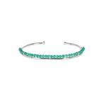 Bracelete Frame Jade Verde | Novidades