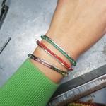 Bracelete Frame Amazonita | Novidades