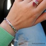 Bracelete Frame Turmalina Melancia | Novidades