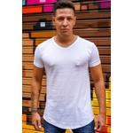 T-shirt Long Basic White
